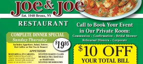 Joe Joe Restaurant mar2015.indd